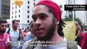 Brésil: mobilisation à Sao Paulo contre la réforme des retraites
