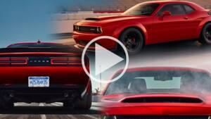 Les premières images de la Dodge Challenger SRT Demon, la berline la plus puissante du monde