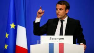 COR-Macron ne sera pas candidat aux législatives en cas de défaite