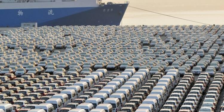 Bond inattendu des exportations chinoises en mars