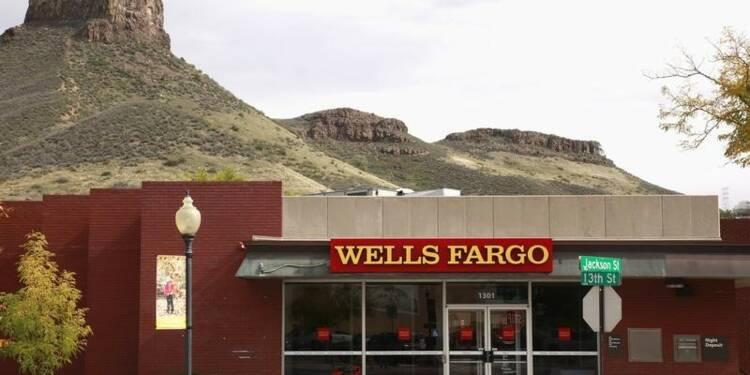 Wells Fargo: Bénéfice stagnant, baisse du revenu des crédits immobiliers