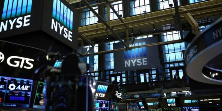 Wall Street recule malgré de bons résultats de banques