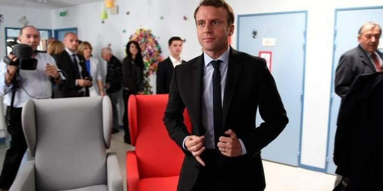 Macron devance Le Pen au 1er tour, selon un sondage Harris Interactive