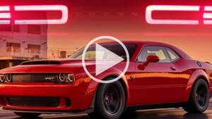 Record : 840 chevaux pour la Dodge Challenger SRT Demon