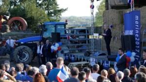 Le Pen (23%) devance Macron (22%) et Fillon (20%), selon un sondage Opinionway