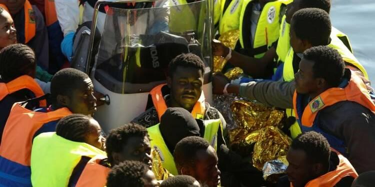 Plus de 2.000 migrants secourus en une journée en Méditerranée