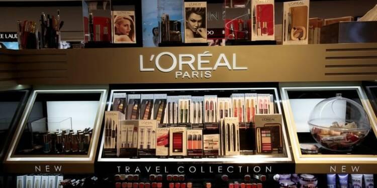L'Oréal sauve son 1er trimestre grâce au luxe