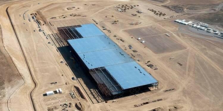 Fuite de produit chimique dans la Gigafactory de Tesla