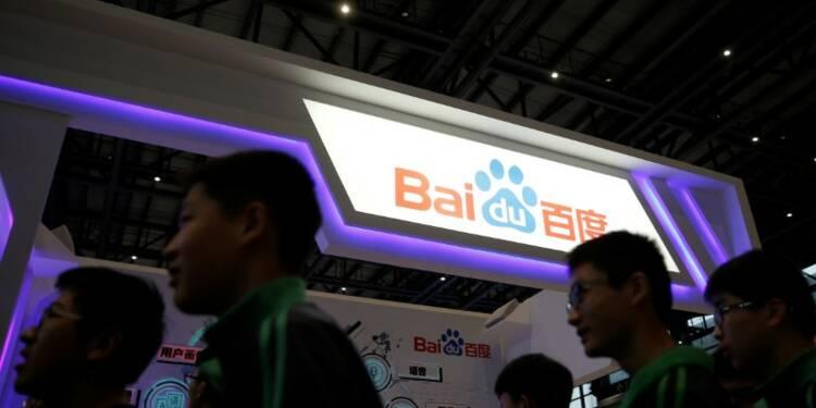 Baidu lancera en juillet sa technologie pour voiture autonome