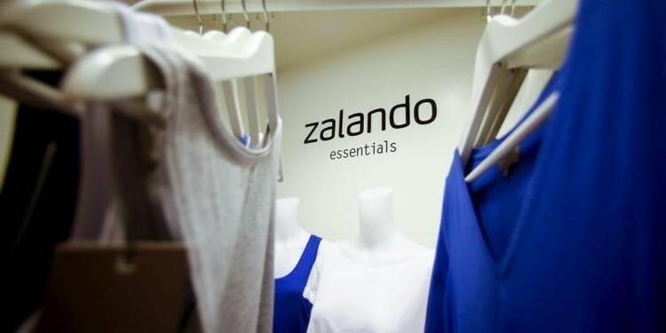 Zalando: Rentabilité inférieure aux attentes, le titre chute