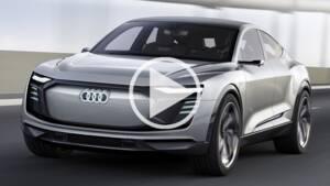 Salon de l'automobile de Shanghai : Audi présente son SUV électrique e-tron Sportback