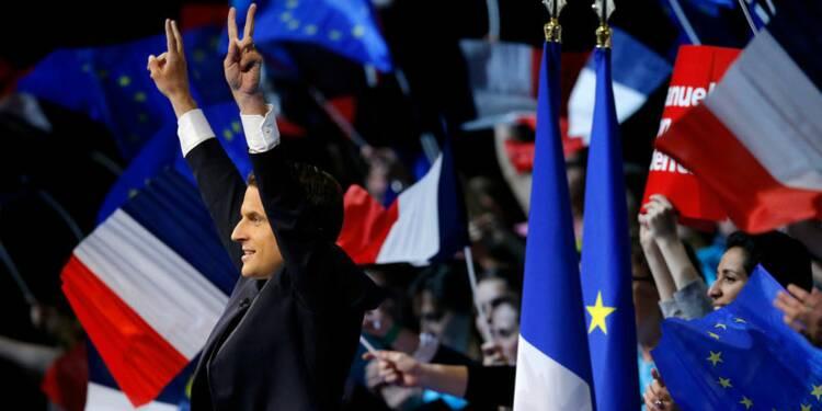Macron donné vainqueur du 2nd tour face à Marine Le Pen — Sondage