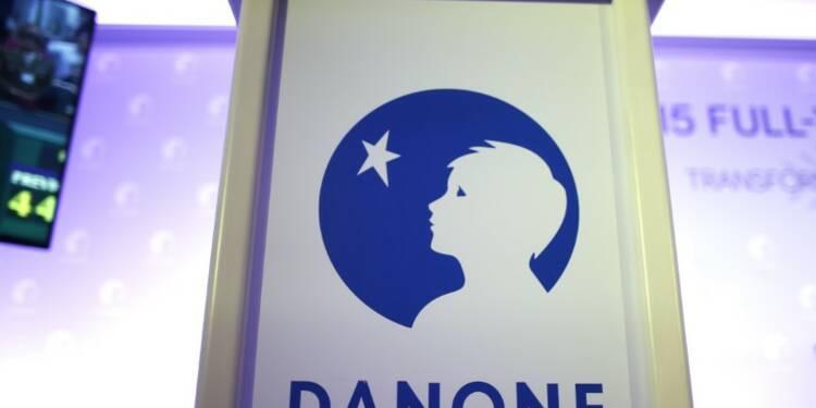Danone relève son objectif 2017 après le rachat de WhiteWave