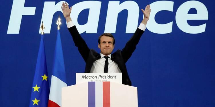 Macron en tête au premier tour : l'euro en hausse de 2%