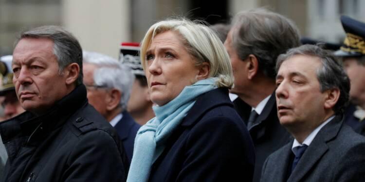 Début de la procédure de levée de l'immunité parlementaire — Le Pen