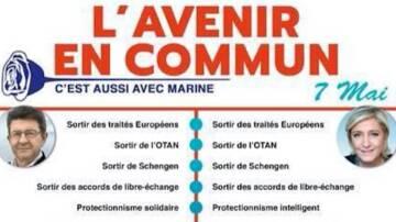 Les tracts du FN sur Mélenchon ont bien changé depuis 2012