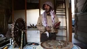 En Syrie, des objets d'art conçus avec des obus