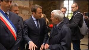 Présidentielle: Macron en visite à Oradour-sur-Glane