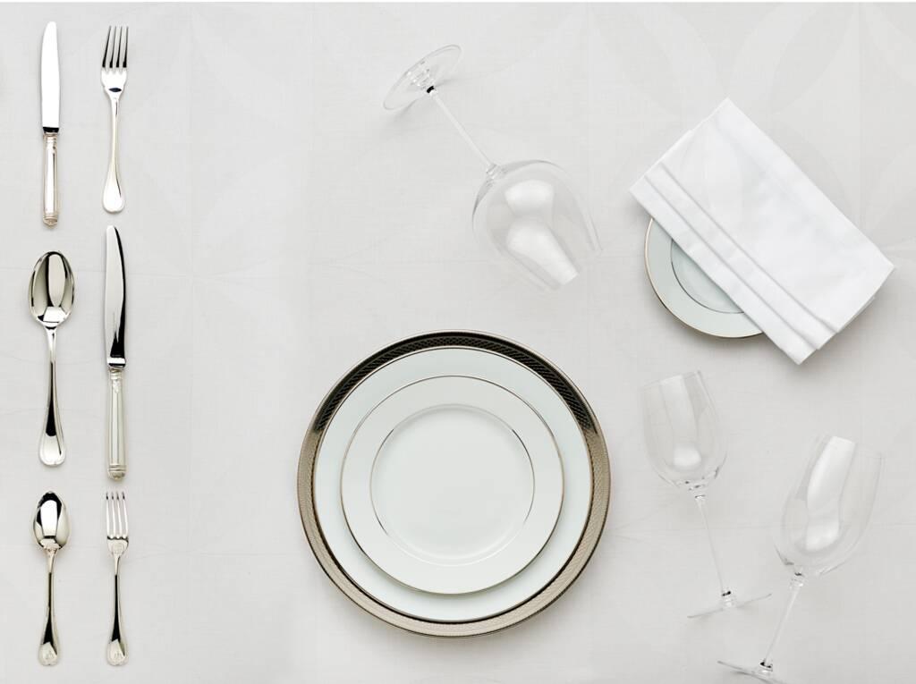 Christofle ou l 39 art de dresser une table la fran aise for L art de table