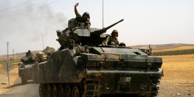 La Turquie veut étendre vers le sud sa zone de contrôle en Syrie