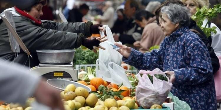 L'inflation estimée stable à +0,4% sur un an en octobre