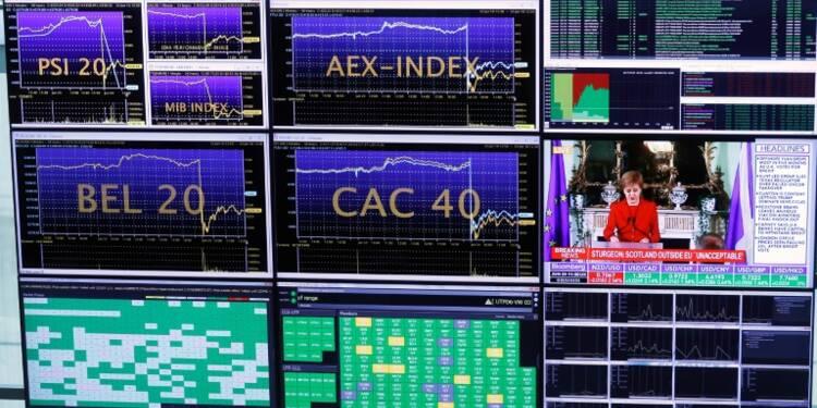 La Bourse de Paris termine en baisse de 0,57%