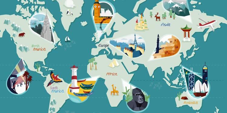 De 855 à 2 248 euros, le coût d'une semaine de vacances pays par pays